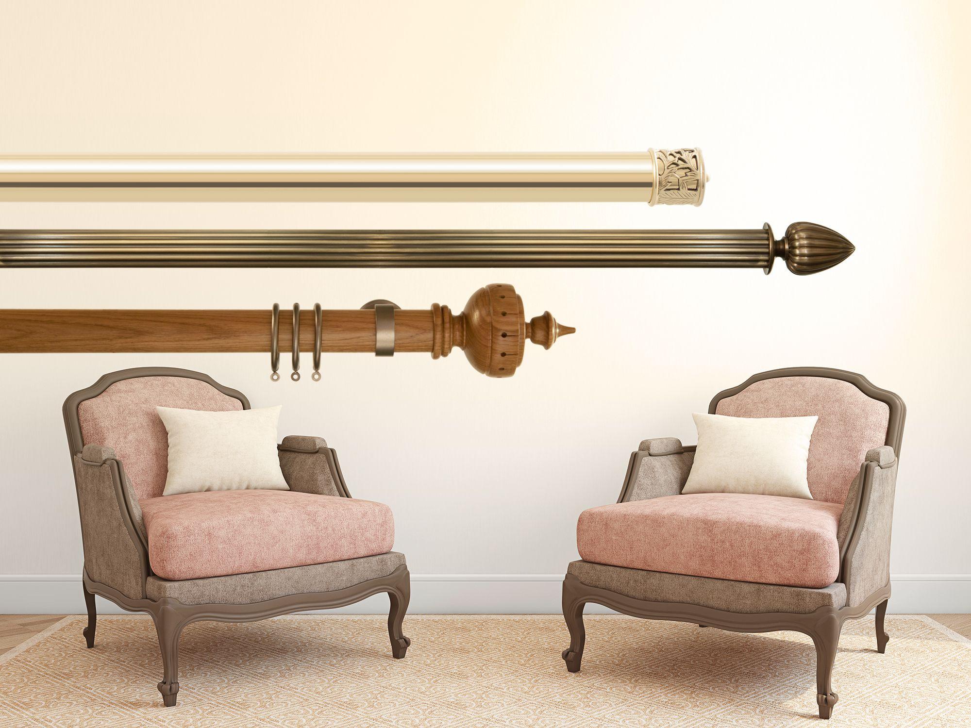 bespoke curtain poles