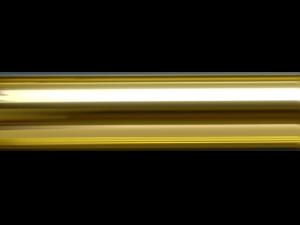 brass curtain pole finish, hunter & hyland