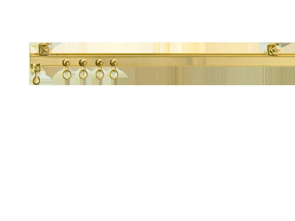 Heavy Duty Brass I Beam Curtain Tracks And Rails