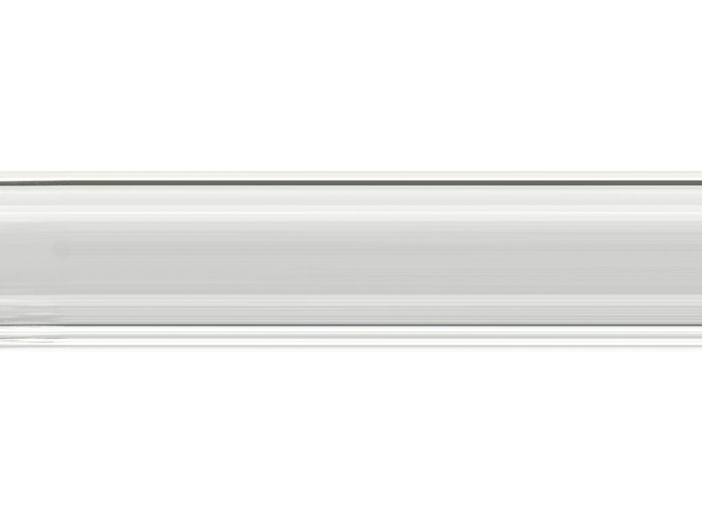 hollow acrylic curtain pole finish