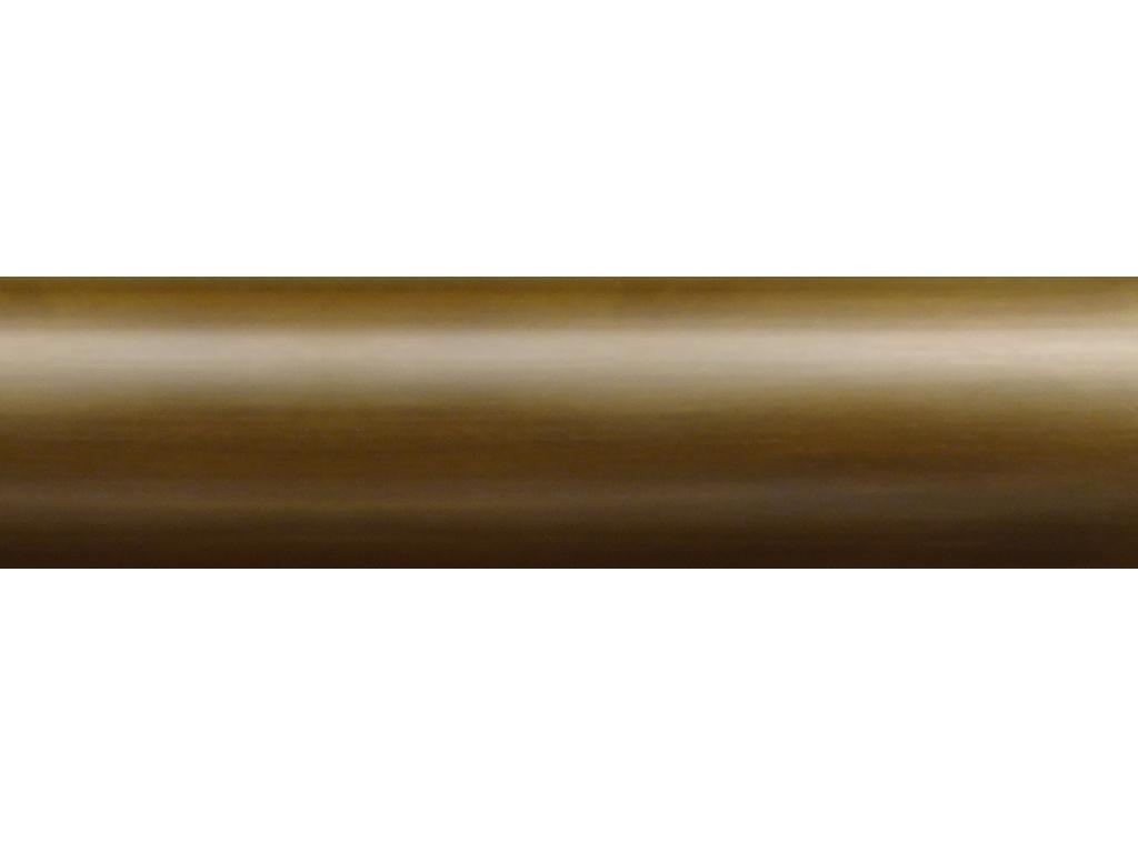 antique brass curtain pole finish