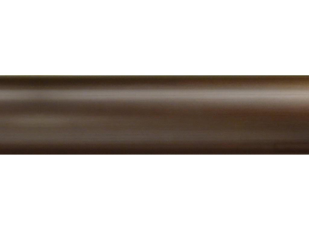 brass curtain pole finish bronze