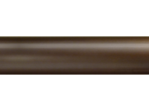 brass curtain pole finish bronze