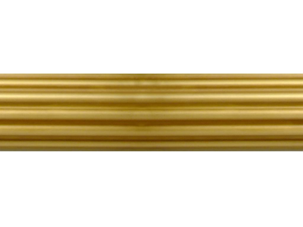 brass curtain pole finish