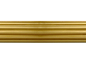 brass curtain pole finish