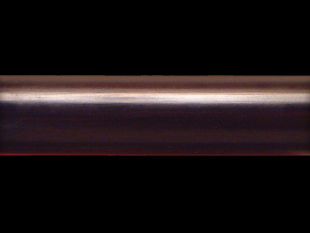 specialist wooden curtain pole finish ebony