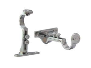 curtain pole extendable centre brackets