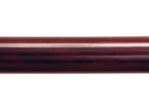 wooden curtain pole finish mahogany