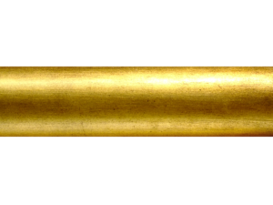 specialist wooden curtain pole finish old gold leaf