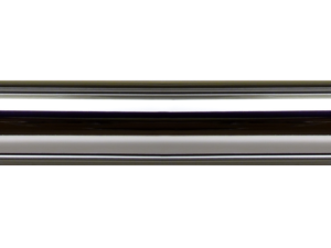 brass curtain pole finish polished chrome