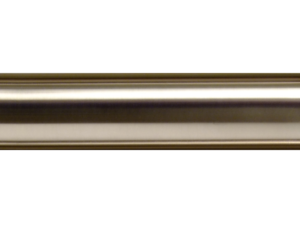 nickel curtain pole. brass curtain pole finishes, hunter & hyland