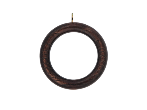 wooden curtain pole rings
