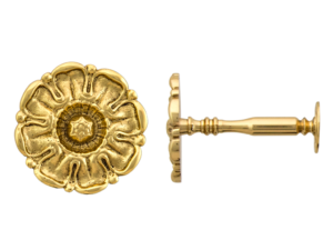 brass tudor rose holback