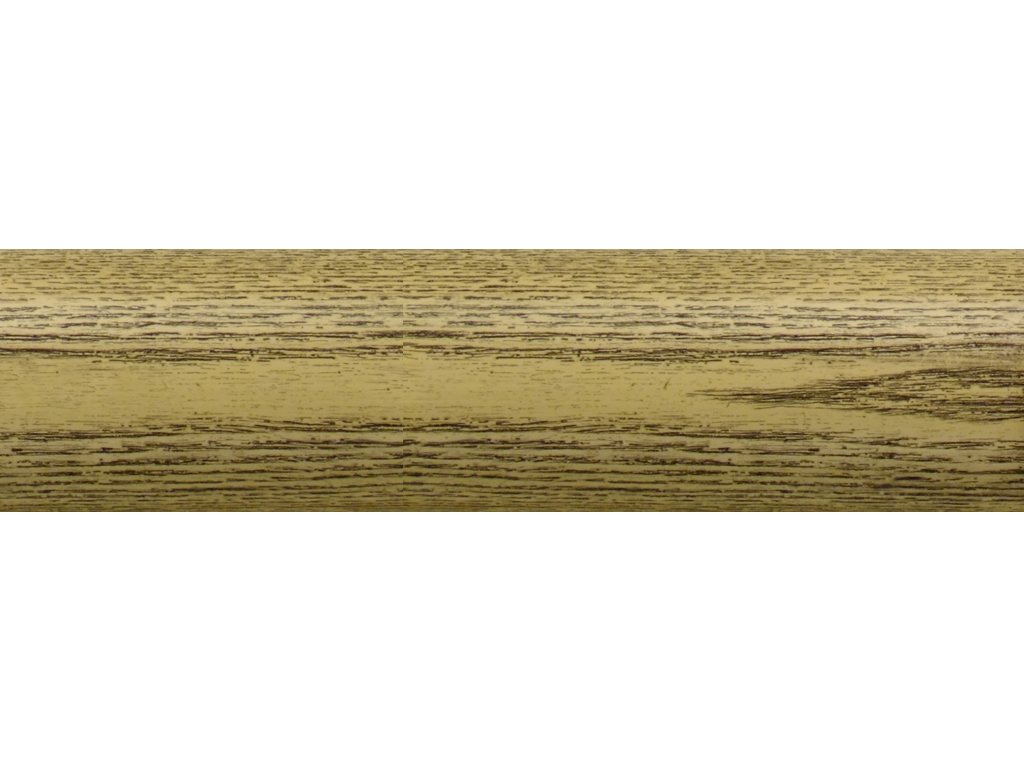 wooden curtain pole finish coalwax cream