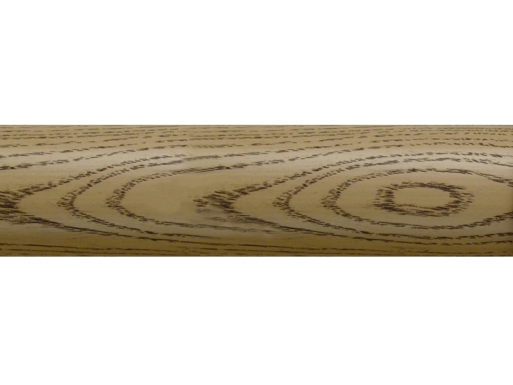 wooden curtain pole finish coalwax london stone