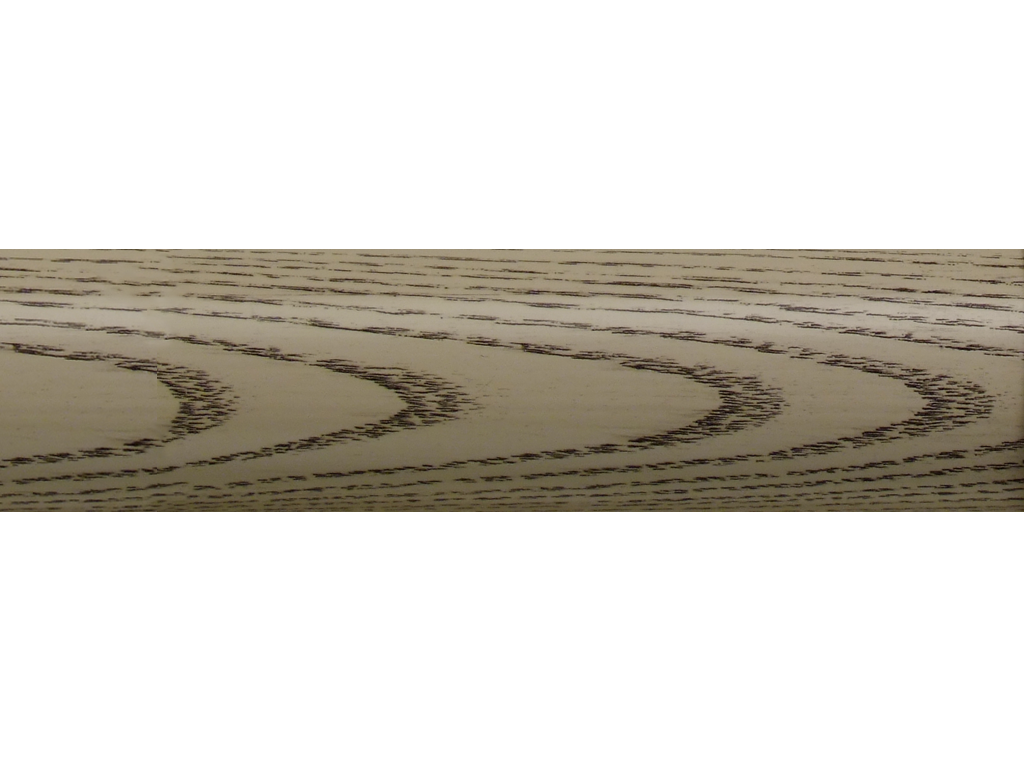 wooden curtain pole finish coalwax off white