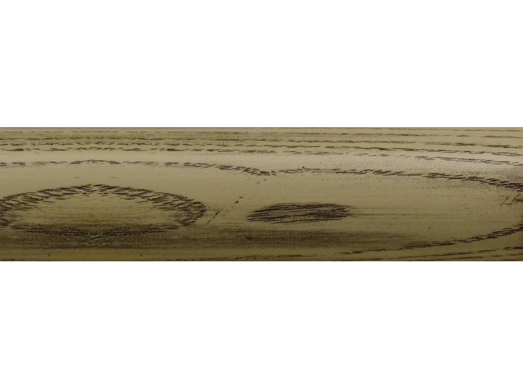 wooden curtain pole finish coalwax string