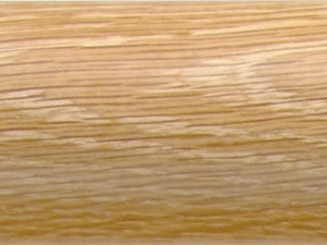 pale oak curtain pole finish