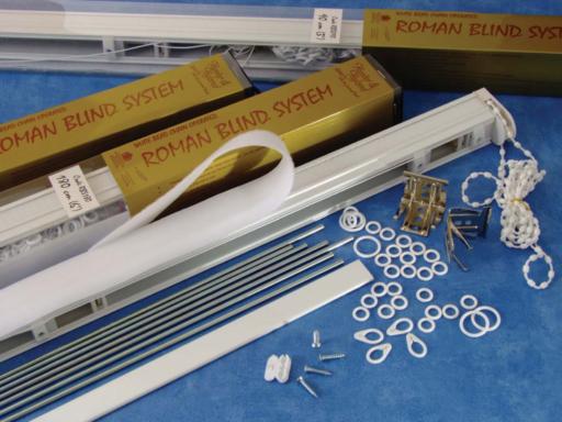 Prepacked Roman Blind System Hunter Amp Hyland Roman Blinds