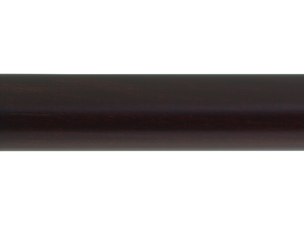 Smooth Wooden Curtain Pole Range Of Finishes Hunter
