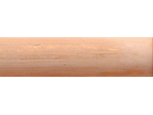 curtain poles wood finishes