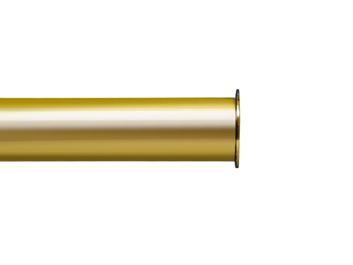 brass curtain pole finial