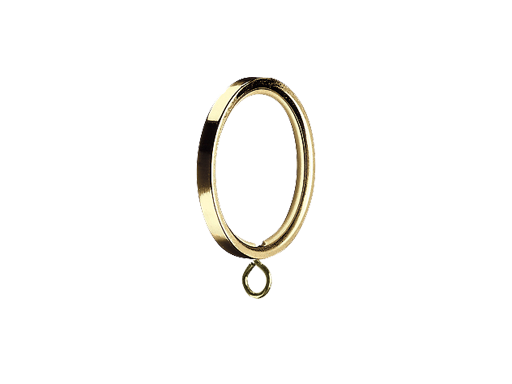 flat curtain ring